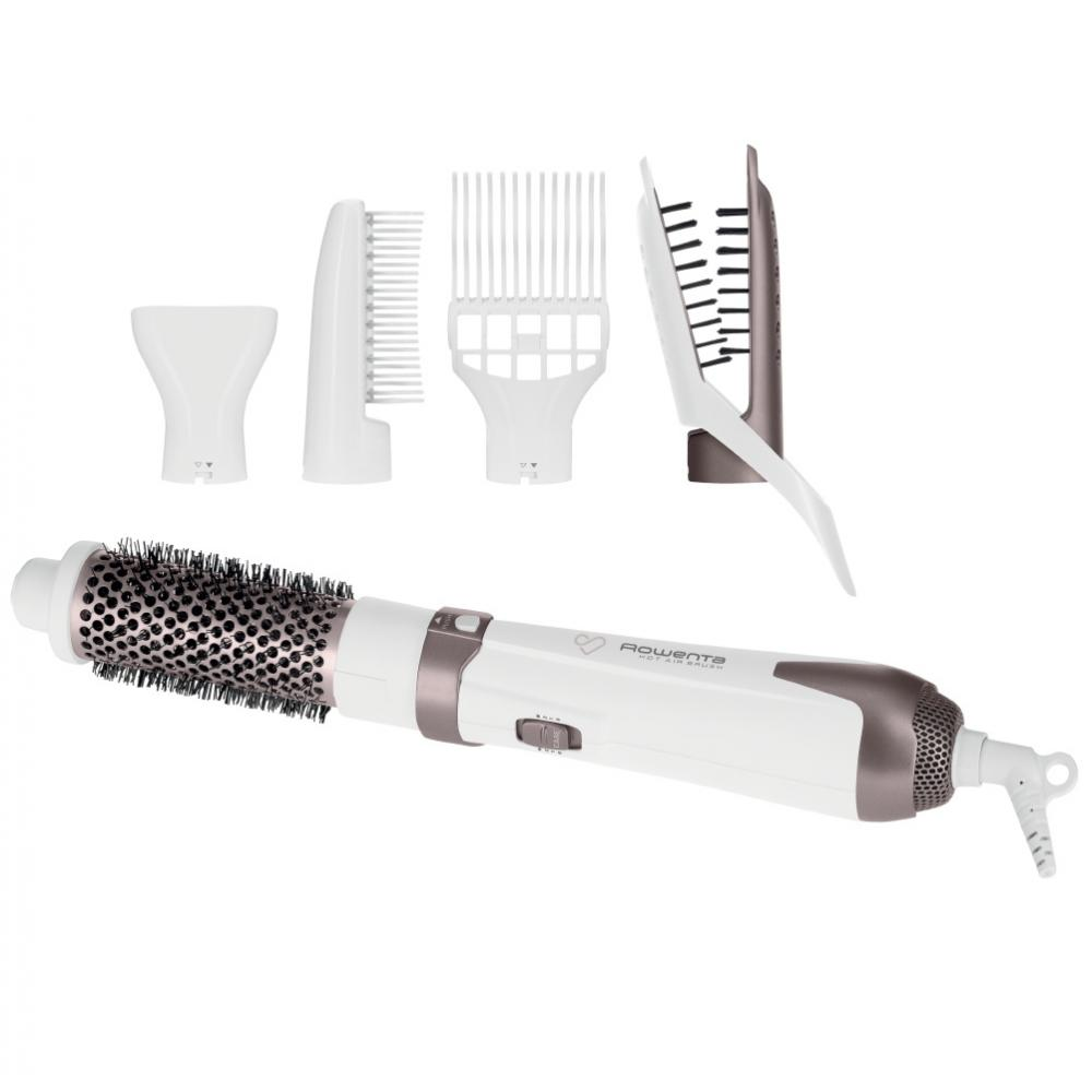 Фен-щетка Rowenta Premium Care Hot Air Brush CF7830, 5 насадок