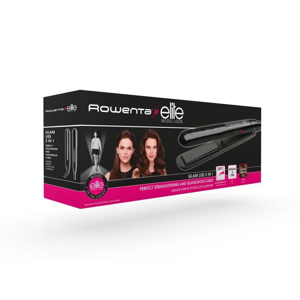 Выпрямитель для волос Rowenta Glam Liss 2 in 1 SF1012