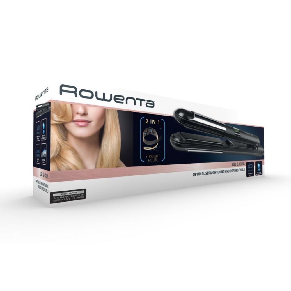 Выпрямитель для волос Rowenta Liss&Curl SF4210 2-в-1 с дисплеем